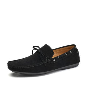 Open image in slideshow, Men's Suede Loafers