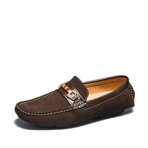 Open image in slideshow, Men's Suede Moccasins