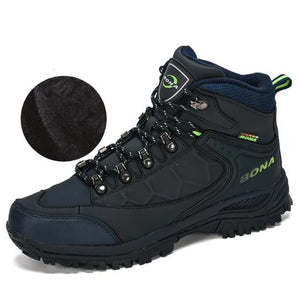 Open image in slideshow, Nubuck Leather Climbing Boots