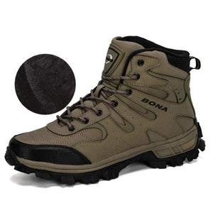 Nubuck Leather Hiking Boots