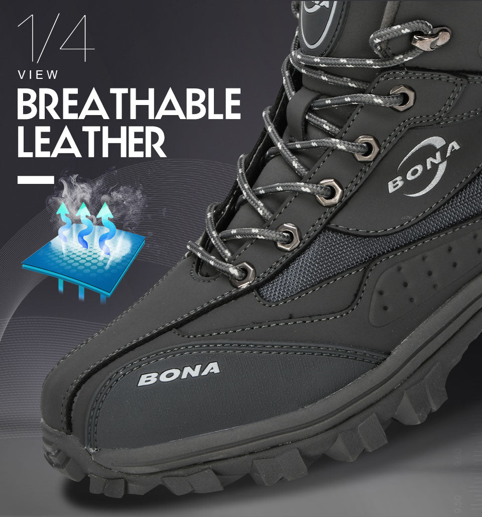 Leather Climbing & Fishing Shoes