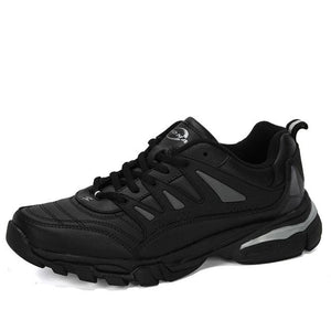 Open image in slideshow, Men's Leather Running Shoes