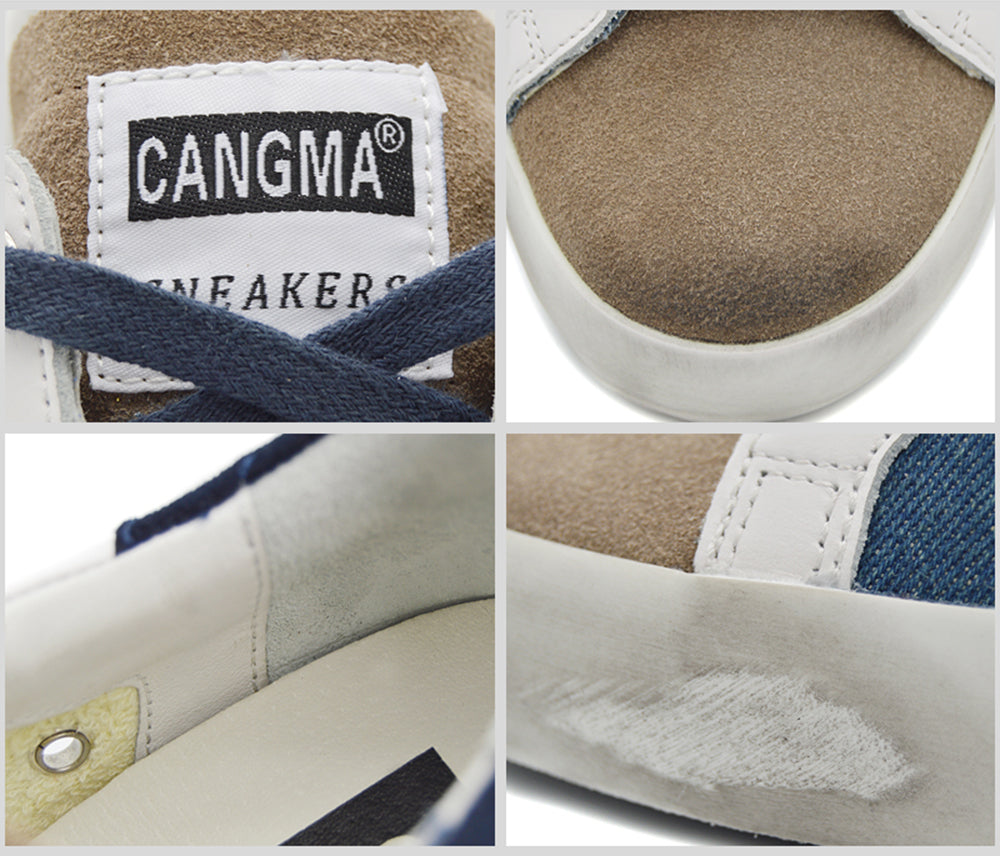 Genuine Leather & Casual Sneakers