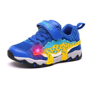 3D LED Dinosaur Sneakers