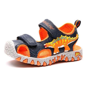 Open image in slideshow, Dinosaur Beach Sandals