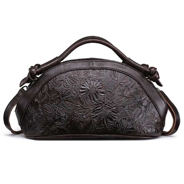 Vintage Genuine Embossed Leather Bag