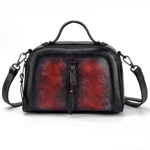 Open image in slideshow, Genuine Leather Vintage Bag
