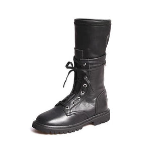 Open image in slideshow, Genuine Leather Winter Boots