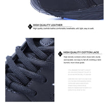 Load image into Gallery viewer, Leather Running Walking Sneakers