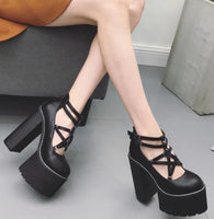 High Heels Platform Shoes