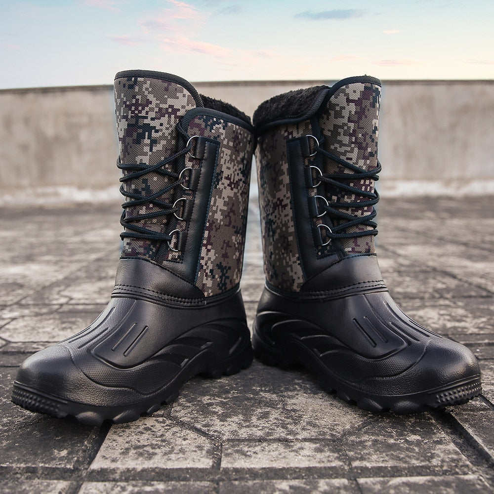 Waterproof Mid-Calf Tough Weather Boots