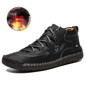 Open image in slideshow, Men's Leather Ankle Boots