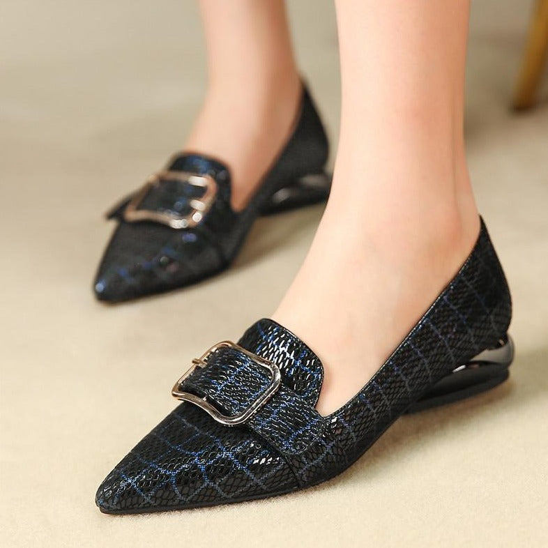 Genuine Leather Slip-on Loafers