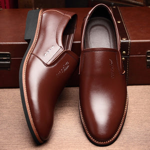 Open image in slideshow, Men's Leather Loafers