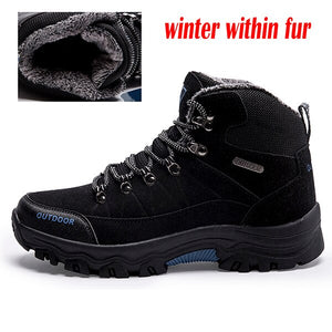 Open image in slideshow, Suede Leather Winter Boots