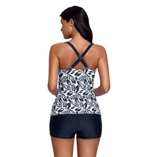 Load image into Gallery viewer, Two Piece Shorts Tankini