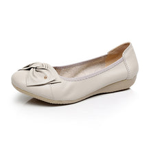 Load image into Gallery viewer, Genuine Leather Ballet Flats