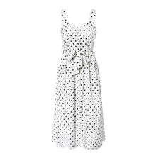 Load image into Gallery viewer, Polka Dot Sleeveless Dress