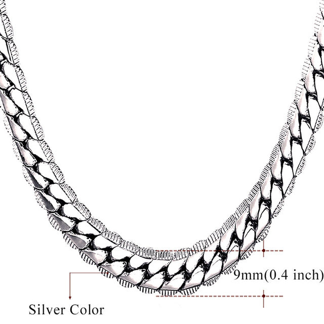 Necklace Choker/Long 9MM/6MM Chain
