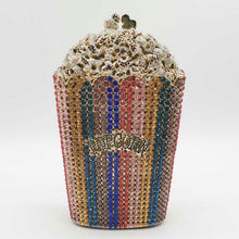 Load image into Gallery viewer, Popcorn Clutch Purse