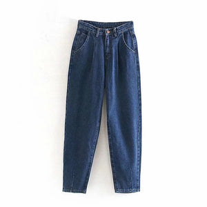 Open image in slideshow, Pleated Pocket Jeans