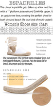 Load image into Gallery viewer, T-strap Open Espadrille Sandals