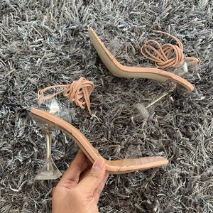 Ankle Cross Strap Sandals