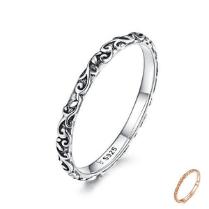 Sterling Silver Tibetan Silver Small Finger Ring