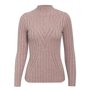 Open image in slideshow, Knitted Turtleneck Sweater