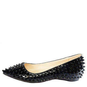 Pointed Toe Rivet Flats