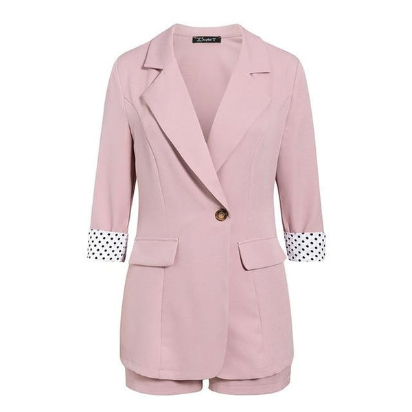 Two Piece Blazer Set