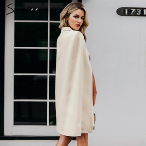 Vintage Cloak Blazer Dress
