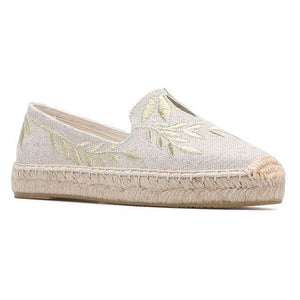 Open image in slideshow, Hemp Flat Espadrilles