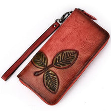 Load image into Gallery viewer, Genuine Leather Vintage Wallet
