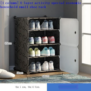 Open image in slideshow, Minimalist Shoes Cabinet