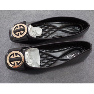 Open image in slideshow, Square Toe Ballet Flats