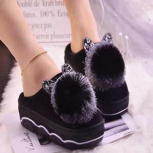 Cute Cat House Slippers