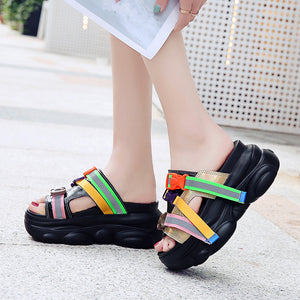 Colorful Chunky Slides