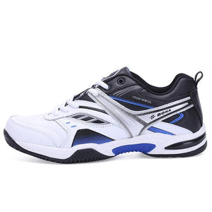 Open image in slideshow, Men's Leather Tennis Shoes