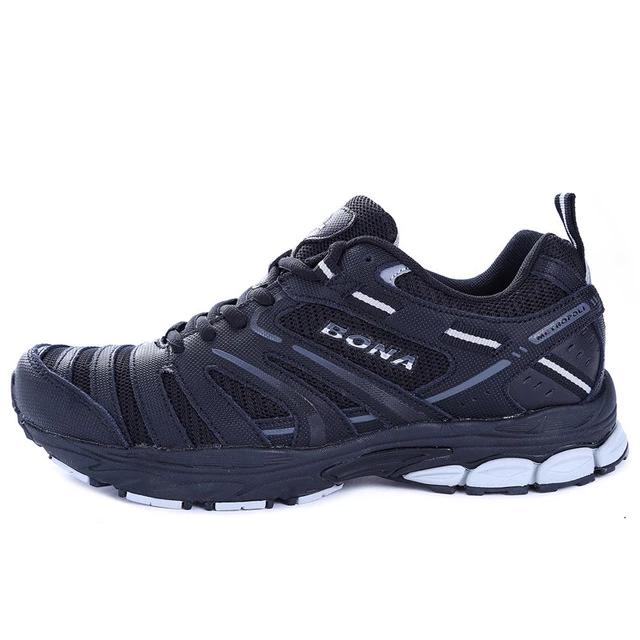 Leather Running Walking Sneakers