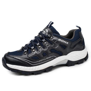 Open image in slideshow, Leather Jogging Running Sneakers
