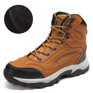 Open image in slideshow, Leather Hiking Boots
