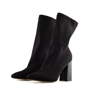 "Open image in slideshow, ""Susan"" Elastic Ankle Boots"