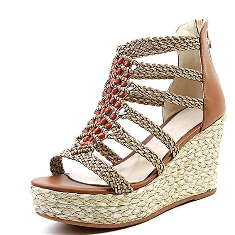 Super Wedge Platform Sandals
