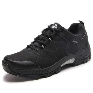 Open image in slideshow, Leather Hiking Jogging Trekking Sneakers