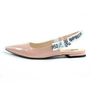 Open image in slideshow, Slingback Pointed Toe Flats