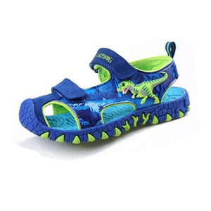 Open image in slideshow, LED Dinosaur Sandals