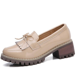 Women's Genuine Leather Oxford Shoes