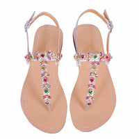 Rhinestone Summer Sandals