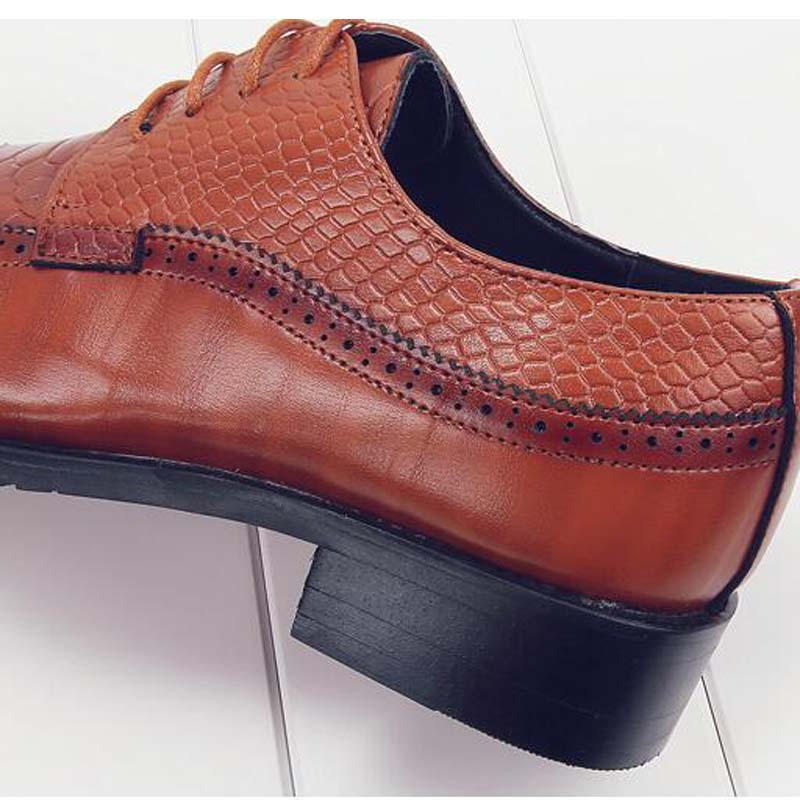 Leather Oxfords Shoes